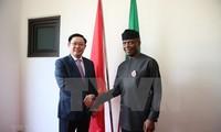 Promueven la cooperación multifacética entre Vietnam y Nigeria