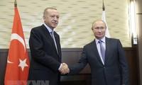 Presidentes de Turquía y Rusia dialogan sobre Siria y relaciones bilaterales