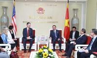 Ministro de Seguridad Pública de Vietnam recibe al embajador de Estados Unidos
