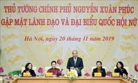 Premier vietnamita se reúne con las dirigentes y diputadas nacionales