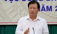 Vicepremier vietnamita orienta trabajos de enfrentamiento a sequía y salinización