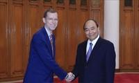 Primer ministro vietnamita recibe a dirigentes de Universidad estadounidense de Harvard