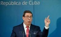 Canciller cubano condena política de Estados Unidos hacia la isla