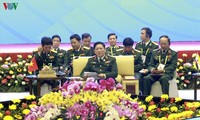 Efectúan reunión plenaria de Conferencia restringida de ministros de defensa de la Asean