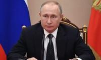 Presidente ruso aprueba votación a enmiendas constitucionales