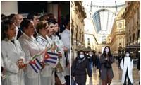 Cuba envía a médicos y enfermeros a Italia para ayudar a enfrentar el Covid-19