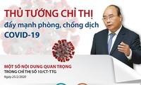 Premier vietnamita urge el estricto cumplimiento de distanciamiento social