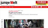 Periódico alemán elogia trabajo de control de Covid-19 en Vietnam