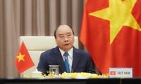 Premier vietnamita asiste a reunión en línea de la OMS