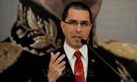 Canciller venezolano critica sanciones de Estados Unidos