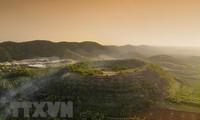 Reserva Dak Nong reconocida como geoparque global