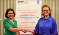 Australia ayuda a mejorar administración pública de Vietnam