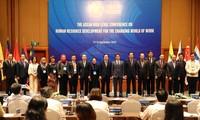 Inauguración de Conferencia de alto nivel de la Asean sobre el desarrollo de recursos humanos