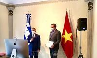 Honduras espera promover las relaciones de amistad y cooperación con Vietnam
