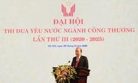 Celebración del tercer Congreso de Emulación Patriótica del Ministerio de Industria y Comercio de Vietnam