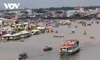 Promueven la preservación del mercado flotante de Cai Rang