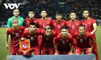 Selección de fútbol vietnamita masculino sube un puesto en el ranking de la FIFA