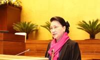 Buen desempeño de la Oficina Parlamentaria en 2020, según la presidenta de la Asamblea Nacional de Vietnam