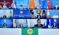 Vietnam participa en la reunión virtual de altos funcionarios de la Asean