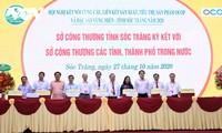 """Eficiencia del programa """"Cada comuna, un producto"""" en Soc Trang"""