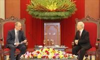 Máximo dirigente vietnamita se reúne con el secretario del Consejo de Seguridad de Rusia