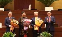 Ratifican el relevo de tres vicepresidentes del Parlamento de Vietnam