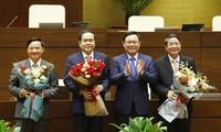 Parlamento de Vietnam elige a sus vicepresidentes