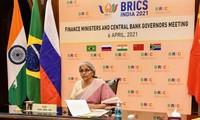 Celebran reunión de ministros de Finanzas y gobernadores de bancos centrales del BRICS