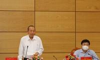 Dong Thap refuerza las medidas de prevención del covid-19