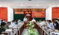 Vicejefes del Parlamento revisan los preparativos para las elecciones legislativas en Son La y Phu Yen