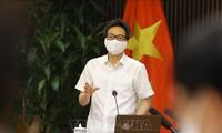 Vicepremier vietnamita exigen evitar propagación del covid-19 en zonas industriales
