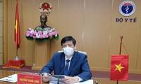 Vietnam sostiene reunión virtual con representantes de COVAX Facility