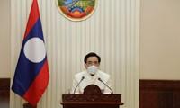 Premier laosiano se solidariza con Vietnam por la complejidad del covid-19