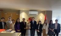Embajada de Vietnam espera reforzar la cooperación con la Cámara de Comercio de Barcelona
