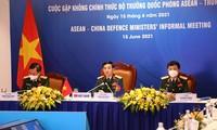 Ministros de Defensa de Vietnam destaca la importancia de la cooperación Asean-China por la seguridad regional