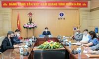 Vietnam y Cuba debaten la cooperación en producción de vacunas contra el covid-19