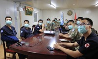 Hospitales de campaña de Vietnam y la India cooperan en la capacitación del personal
