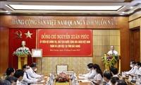 Presidente vietnamita resalta los logros de la provincia de Bac Giang en la lucha antipandémica
