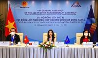 Vietnam incentiva la cooperación entre la AIPA y la Asean
