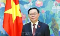 Parlamentspräsident Vuong Dinh Hue wird an Konferenz der Parlamentspräsidenten teilnehmen