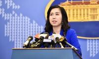 Vietnam protege su soberanía marítima según el derecho internacional, afirma la portavoz de Cancillería