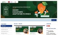 Foro de Educación de Vietnam 2021: la educación superior se adapta a la crisis