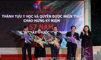 Vietnam honra a sus médicos y logros del sector sanitario