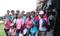 Encuentro de intercambio entre jóvenes vietnamitas y camboyanos