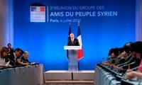 Grupo de Amigos de Siria pide unidad a la oposición siria