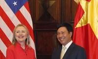 Vietnam y EEUU acuerdan impulsar relaciones bilaterales