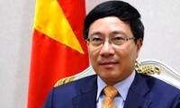 Canciller vietnamita confía en desarrollo de relaciones Vietnam- Kazajstán