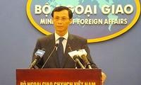 Urge Vietnam a China a detener todos actos violadores de su soberanía