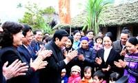 Presidente vietnamita destaca papel del pueblo en desarrollo rural