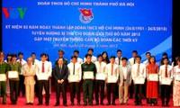 Conmemoran 82 años de la Juventud Comunista de Vietnam